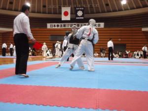日本拳法、第17回春季大阪府民体育大会の結果