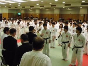 日本拳法、第11回西日本学生拳法個人選手権の結果