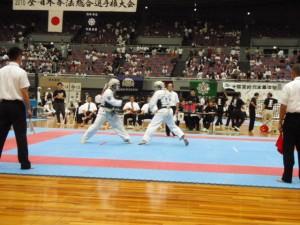 2010 全・日本拳法総合選手権大会の試合結果