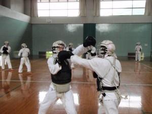 クロムカスタム工房代表、石津雅之ブログ-日本拳法、一本の瞬間